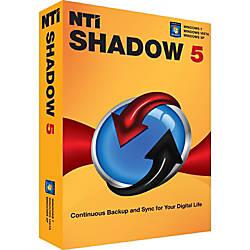 NTI Shadow 5 for Windows Download