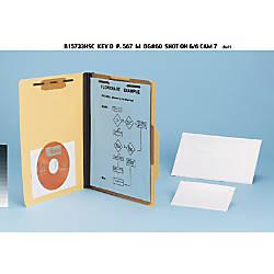 Pendaflex Self Adhesive Clear Vinyl Pockets