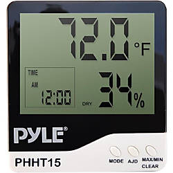 PyleMeters Indoor Digital Hygro Thermometer