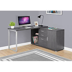 Monarch Specialties L Shaped Particleboard Computer