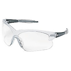 DEUCE SMOKE FRAMES CLEARLENS SAFETY GLASSES