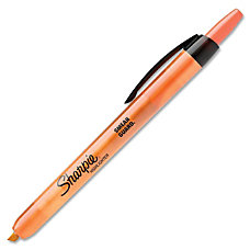 Sharpie Accent Retractable Highlighter Micro Chisel