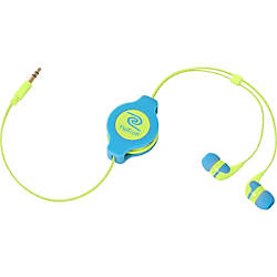 ReTrak Retractable Neon Blue and Yellow