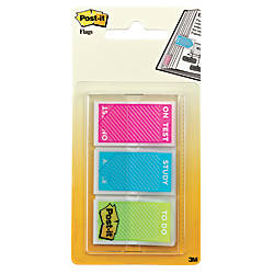 Post it Printed Message Flags 1