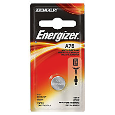 Energizer Alkaline A76 Coin Cell Battery