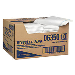 Wypall WypAll X80 Foodservice Towels Quarter
