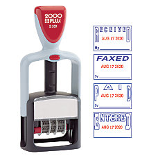 Cosco 2000 Plus Self Inking Date