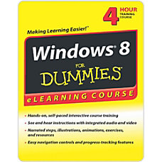 Windows 8 For Dummies eLearning 30