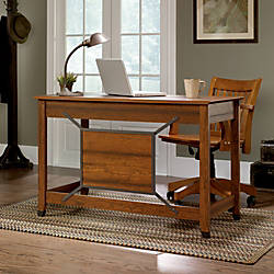 Sauder Carson Forge Collection Computer Desk
