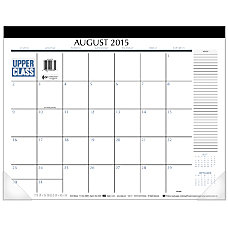 Mead Academic Desk Pad Calendar 22