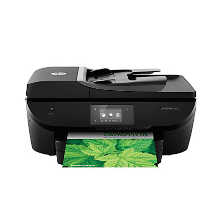 HP Officejet 5740 Wireless Color Inkjet All In One Printer Scanner Copier And Fax B9S76AB1H by ...