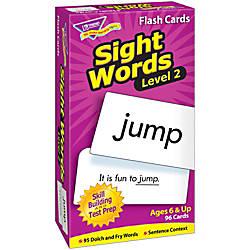 TREND Sight Words Skill Drill Flash