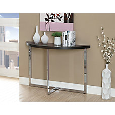 Monarch Specialties Console Table Half Moon