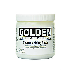 Golden Molding Paste Coarse 8 Oz