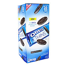 Oreo Thins Cookie Packs Box Of