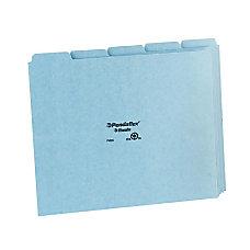 Pendaflex Blank Self Tab Pressboard File