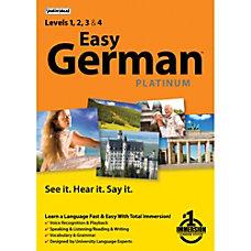 Easy German Platinum Download Version