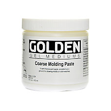 Golden Molding Paste Coarse 16 Oz