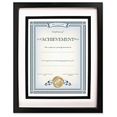 Dax Burns Grp Airfloat Certificate Frame