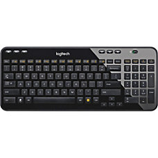 Logitech Wireless Keyboard K360 Glossy Black