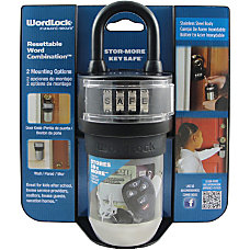 Wordlock KS 052 BK Storage Case
