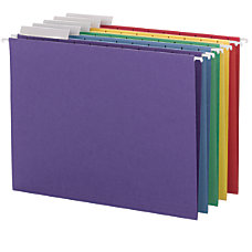 Smead Color Hanging Folders With Tabs