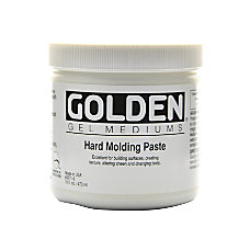 Golden Molding Paste Hard 16 Oz