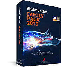 Bitdefender Family Pack 2016 Unlimited Users
