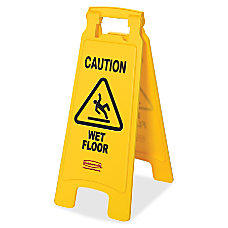 Rubbermaid Commercial Caution Wet Floor Safety