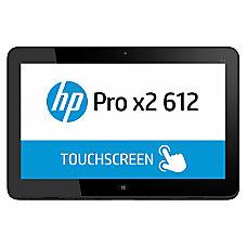 HP Pro x2 612 G1 Tablet