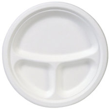 EcoSmart 3 Compartment Plate 10 Diameter