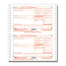 ComplyRight W 2 Tax Forms Continuous