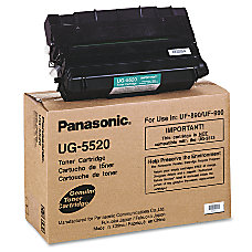 Panasonic UG 5520 Black Toner Cartridge