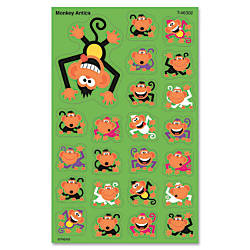 Trend SuperShapes Stickers Monkey Antics Pack