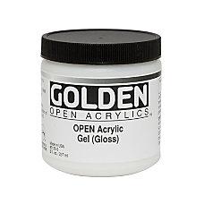 Golden OPEN Acrylic Mediums Gel Medium