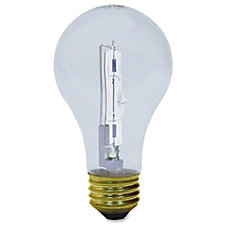 GE Crystal Clear A19 Halogen Bulb