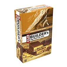 Clif Bar Builders Chocolate Peanut Butter