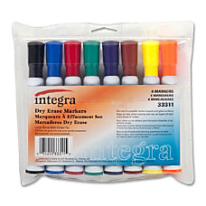 Integra Dry Erase Marker Chisel Point