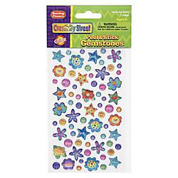 ChenilleKraft PeelStick FlowerStars Gemstones Learning Fun