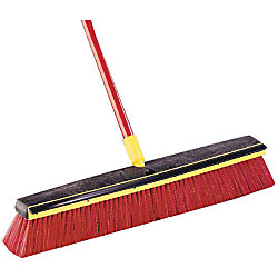 Bulldozer 2 In 1 Squeegee Push Broom By Office Depot