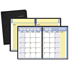 QuickNotes 30percent Recycled Monthly Self Management