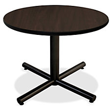 Lorell Hospitality Espresso Laminate Round Tabletop