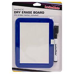 LockerMate Locker Dry Erase Board BlackBlue