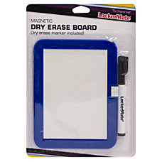 LockerMate Locker Dry Erase Board BlackBlue
