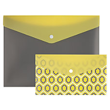 Office Depot Brand Poly Snap Envelope