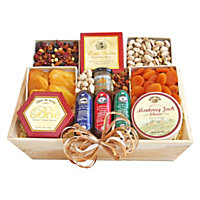 Deluxe Meat And Cheese 4 Lb Givens Gift Basket