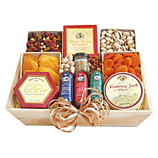 Givens Gift Basket Deluxe Meat And