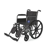 Medline K1 Basic Wheelchair Elevating Permanent