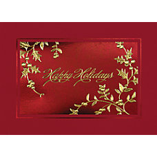 Personalized Holiday Cards Glistening Holidays 7