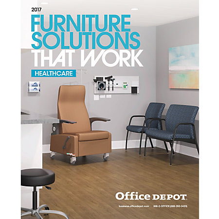 2017 Office Depot Furniture Solutions Catalog Healthcare
